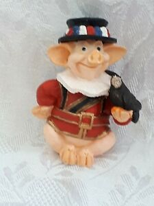PIGTAILS Holland Studio Craft LIMITED EDITION Beefeater RARE.