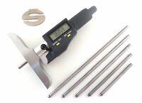 "iGaging Absolute Electronic Depth Micrometer Gauge IP54 0-6""/150 mm 35-054-646"