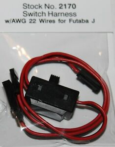 RC ON/OFF Switch MPI On Off for FUTABA J  22AWG Item 2170 Maxx Products