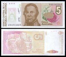 Billetes de Chile y Argentina