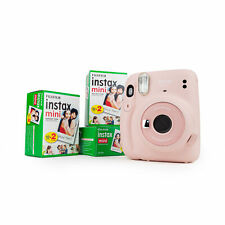Fuji Instax Mini 11 Instant Camera Blush Pink Instant Picture Party Camera + 3DP