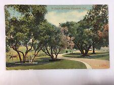 1914 Busch Sunken Gardens, Pasadena, CA postcard unposted