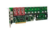 OpenVox A1200P0003 12 Port Analog PCI Base Card + 0 FXS + 3 FXO, Ethernet (RJ45)