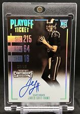 Jared Goff 2016 Panini Contenders Rookie Playoff Ticket Auto /25