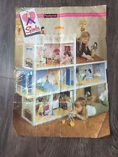 Vintage Sindy Clothing and Accessories Poster/leaflet 1970's