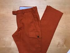 Hertling Trouser. 100% Cotton Cargo Pants   Size 32   UL. NEW.