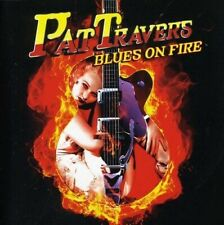 PAT TRAVERS - BLUES ON FIRE  CD NEW+