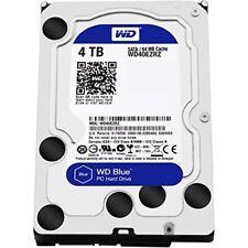 "Western Digital WD Blue 4 TB Internal  3.5"" Hard Drive HDD Desktop 4TB WD40EZRZ"
