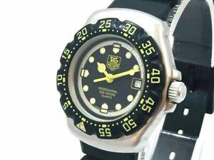 TAG HEUER Watch 376.508 Formula 1  New Battery Quartz  Date   T1784