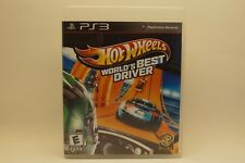 Hot Wheels World's Best Driver (Playstation 3, 2013)