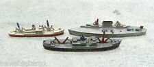 #T37. THREE USA TOOTSIETOY DIECAST METAL SHIPS/BOATS