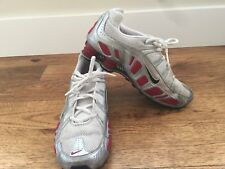 Nike Shox Turbo III Shoes Red/Silver size 8