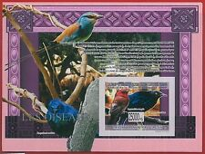 FRENCH GUINEA - ERROR, 2009 IMPERF SHEET: BIRDS, Animals