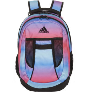 Adidas Finley 3-Stripes Backpack Gradient Pink Blue Multicolor One Size New