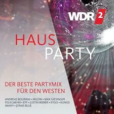 WDR2 HAUSPARTY (ANDREAS BOURANI, MILOW, JUSTIN BIEBER, ...) 2 CD NEW+