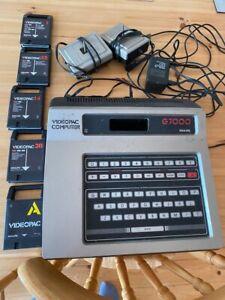 philips g7000 videopac Machine + Games Spares