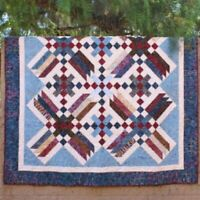 Criss Cross quilt pattern by Cozy Quilt Designs