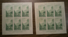 US - TWO Imperf Stamp 6 Blocks - # 751 - from 1934
