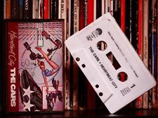 The Cars ♫ Heartbeat City ♫ RARE 1984 Dolby HX PRO Cassette Tape Misprint Label