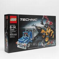 LEGO Technic 42023 Construction Crew set Wheel Loader/Dump Truck/Excavator Rare