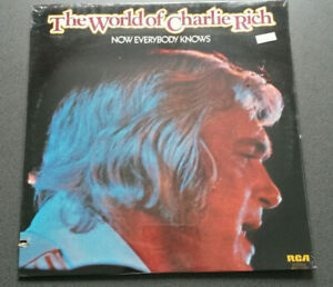 Charlie Rich LP Now Everybody Knows 68F