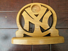 New York Yankees carved WOODEN Logo
