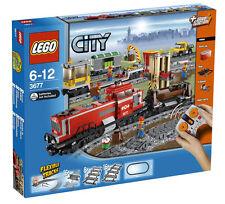 LEGO City Güterzug mit Diesellokomotive (3677) Neu , OVP & versiegelt