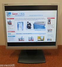 """NEC 17"""" AccuSync 73V LCD FLAT TFT Monitor Display Screen ASLCD73V-BK"""