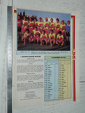 CLIPPING POSTER FOOTBALL 1979-1980 RC LENS RCL BOLLAERT SANG & OR