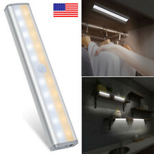Led Under Cabinet Light Motion Sensor Rechargeable Wireless Closet Kitchen Lamp