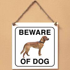 Tyrolean Hound Segugio tirole 0 Beware of dog ceramic tile sign piastrella cane