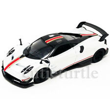 Kinsmart Pagani Huayra BC Livery Edition 1:38 KT5400DF White with Stripes