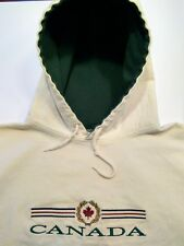 Canada Hoodie. 100% Cotton. Made in Canada. Size XL. Pull-Over. Lined.