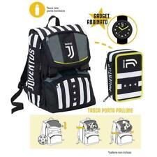 Juventus zaino scuola + astuccio 3 cerniere-schoolpack -winner forever-Orologio