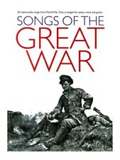 Songs Of The Great War PVG Learn to Play Tunes Piano Vocal Guitar MUSIC BOOK