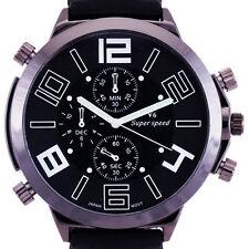 reloj de pulsera deportivo de gran tamaño de la manera de los nuevos hombres