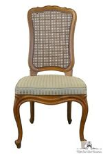 DREXEL HERITAGE Touraine Collection French Provincial Cane Back Side Chair