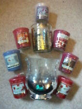 Yankee Candle Holder, Icicles, Honey Blossom, Raspberry Sundae, Tarte Tatin etc