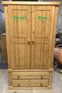 WENTWORTH PANTRY LARDER PROVISIONS CUPBOARD 2 DRAWERS & 3 SHELVES NO FLAT PACKS