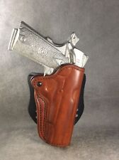 1911 Commander OWB Custom Leather Paddle Holster...ETW Holsters, NC