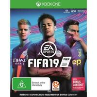 FIFA 19 XBOX One Microsoft XB1 X Soccer Football Footy Sports Game Neymar Cover