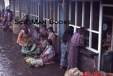 KODACHROME 35mm Slide Guatemala Market Pretty Women Cute Girls Costumes 1979!!!
