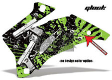 Amr racing décor Graphic Kit ATV yamaha yfz 450 04-14 yfz450r 09-16 Glock Guns B