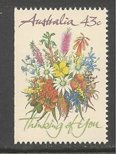 Australia #1193 (A413) Mint Nh - 1990 43c Special Occasions - Thinking Of You