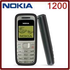NOKIA 1200 GSM 900/1800 Original Teléfono Móvil Pantalla Multi idiomas 1.5 en