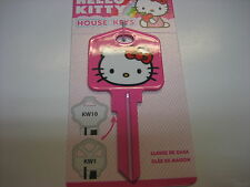 Hello Kitty Pink Kwikset Kw1 House Key Blank / by Sanrio Licensed
