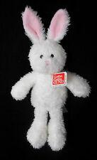 "GUND Plush Bunny Rabbit White, Pink Hoptieer  13"" NWT"