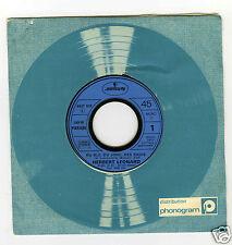 45 RPM SP  HERBERT LEONARD DU BLE DU JONC DES RADIS (G.MANSET)