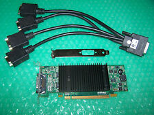 Matrox p690 Plus PCIe x16 Quad Monitore Grafikkarte + 4x VGA Kabel, Win 7/8