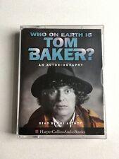 WHO ON EARTH IS TOM BAKER? ON AUDIO CASSETTE TAPE. 1997.